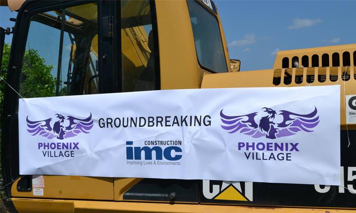 Phoenix Village Ground Breaking