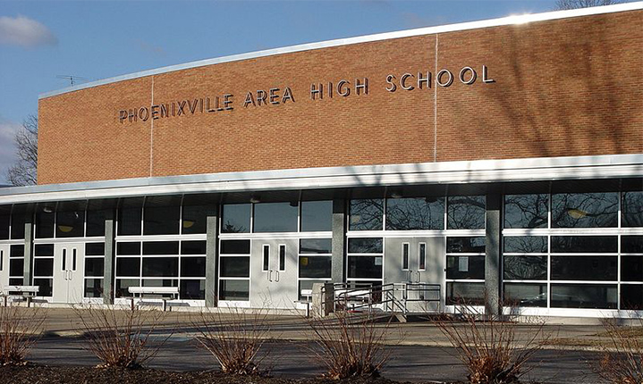 Phoenixville Area High School in Phoenixville PA