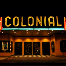 Graphic link to The Colonial Theatre location page
