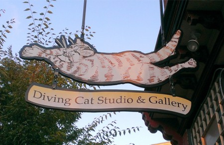 The Diving Cat Studio in Phoenixville PA