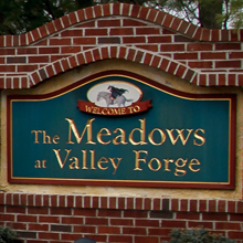 Graphic link to The Meadows at Valley Forge page.