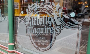 A window of Molly Maguire's