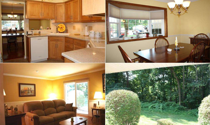 Four pictures of a lovely home for sale in Phoenixville