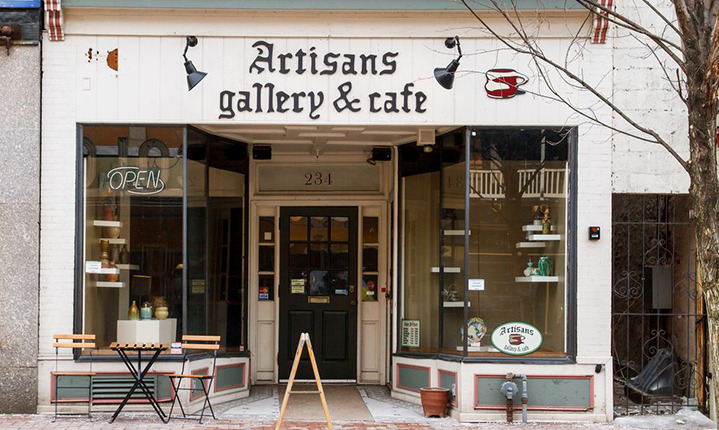 Artisan's Gallery And Cafe in Phoenixville Pennsylvania