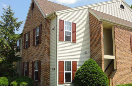 The building where a beautiful flat is located in Phoenixville Pennsylvania