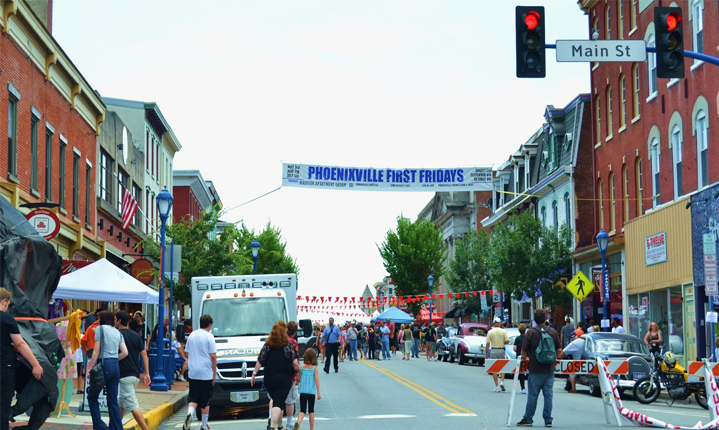 Phoenixville First Fridays
