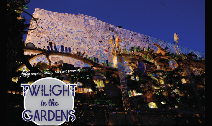 October Twilight at Philadelphia's Magic Gardens