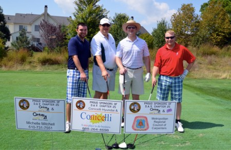 3rd Annual DAV Chapter 25 Golf Outing