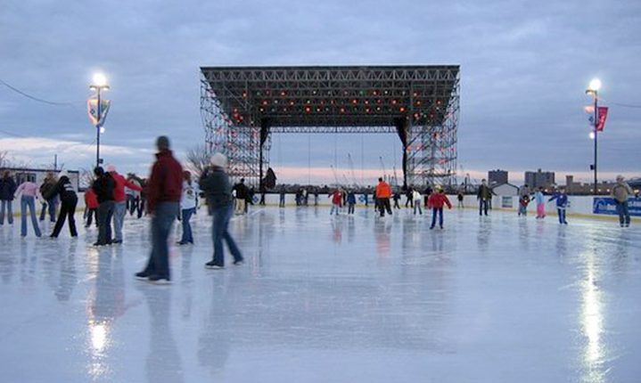 The Blue Cross RiverRink Winterfest Begins Friday