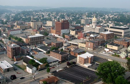 Greensburg City in Pennsylvania