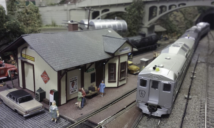 Check Out The Model Railroad Display